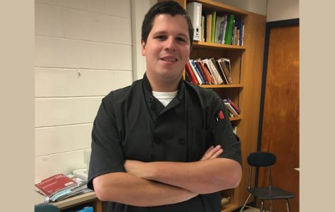 Bleau brings culinary skills to high school