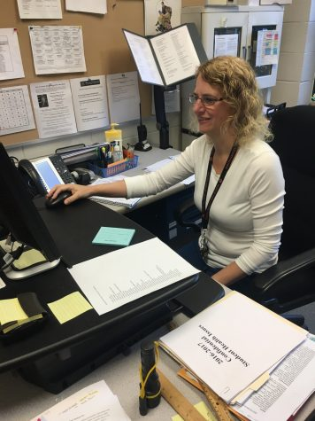 New Nurse Smith Excited About Helping Students