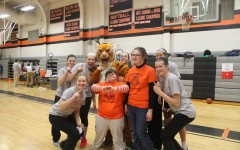 South Hadley Best Buddies pose with athletes from South Hadley and the South Hadley Tiger