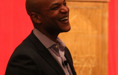 Welcoming  author  Wes Moore  to Springfield