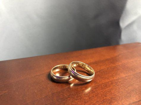 Love: Two wedding rings.