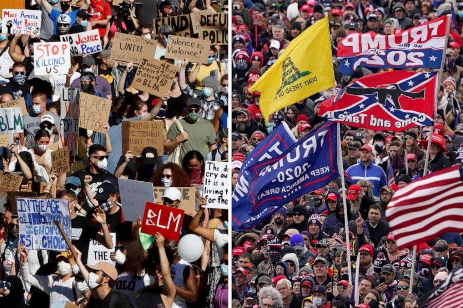 The Difference Between Black Lives Matter Protests and the Capitol Insurrection